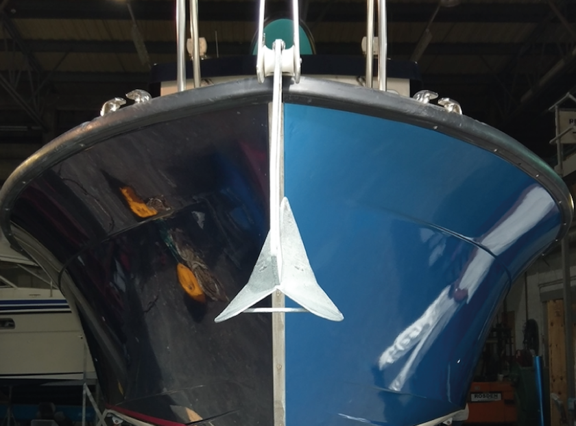 Sign Solution Boat Wrapping - Signtech Blueprint Jersey