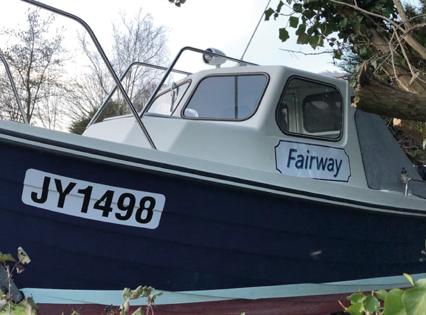 Sign Solution Boat Detailing - Signtech Blueprint Jersey