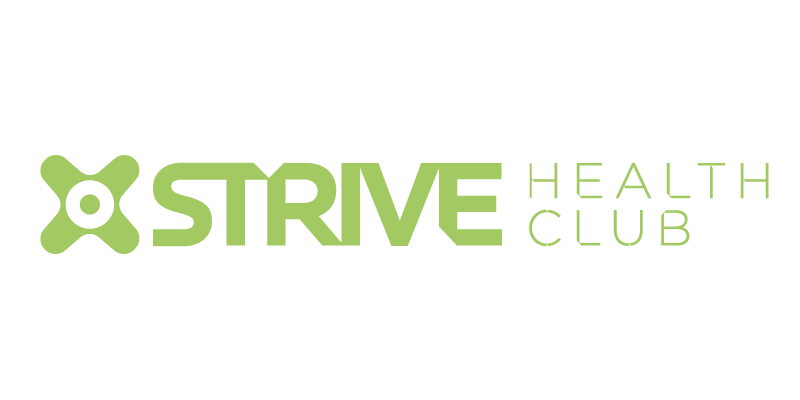 Sign Solutions Jersey - Signage production for Strive Health Club Jersey - Signtech Blue Print Jersey