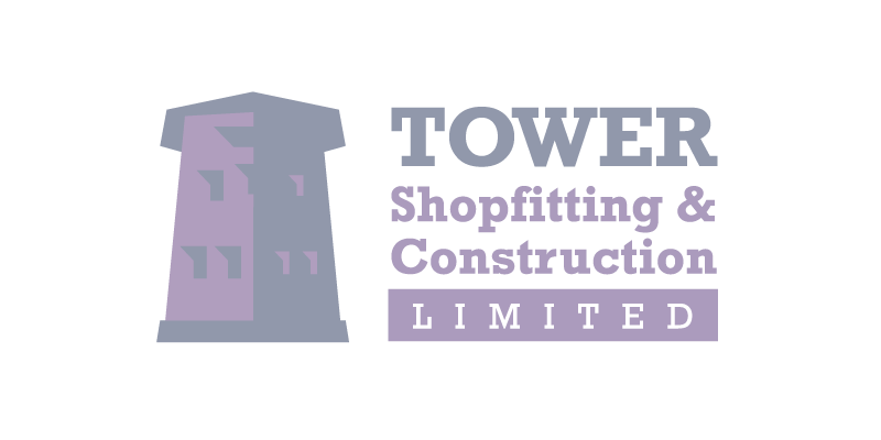 Sign Solutions Jersey - Signage production for Tower Shopfitting & Construction LTD Jersey - Signtech Blue Print Jersey