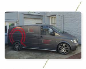 Sign Solution Vehicle Wrapping - Signtech Blueprint Jersey