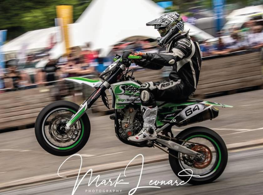 Sign Solution Motorbike Graphics - Signtech Blueprint Jersey