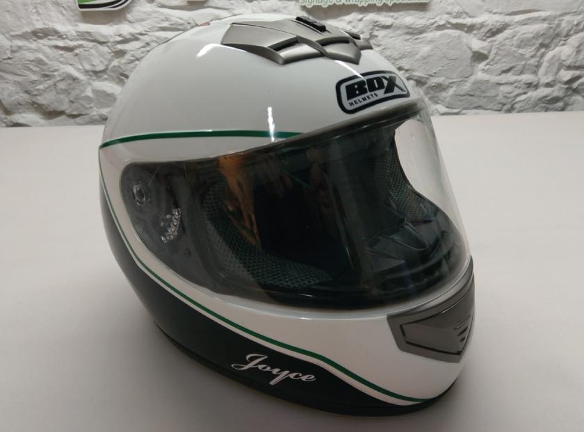 Sign Solution Helmet Wrapping - Signtech Blueprint Jersey