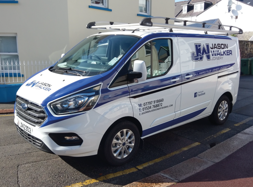 Sign Solution Vehicle Wrapping Business Signage - Signtech Blueprint Jersey