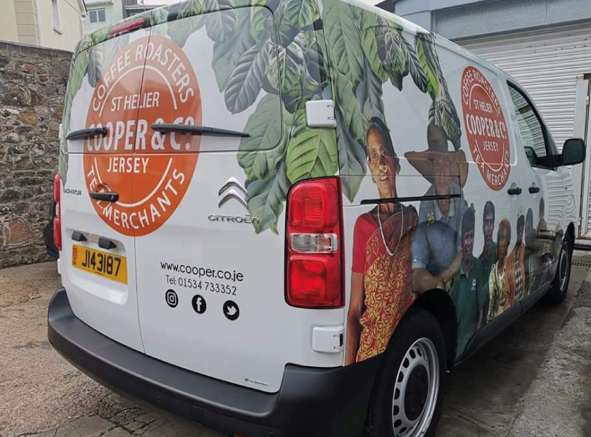 Sign Solution Vehicle Wrapping - Vehicle advertising - Signtech Blueprint Jersey