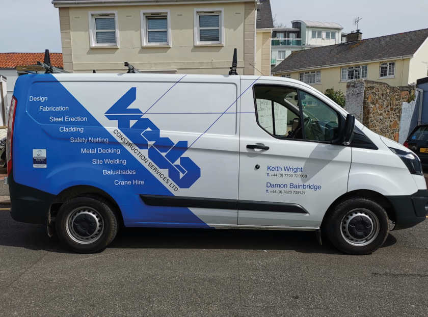 Sign Solution Vehicle Wrapping- Business Branding - Signtech Blueprint Jersey