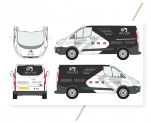 Sign Solutions Vehicle Wrapping - Design and Print - Signtech Blueprint Jersey