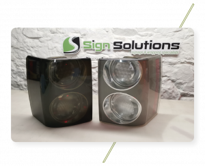 Sign Solutions Vehicle Wrapping - Light Tinting - Signtech Blueprint Jersey