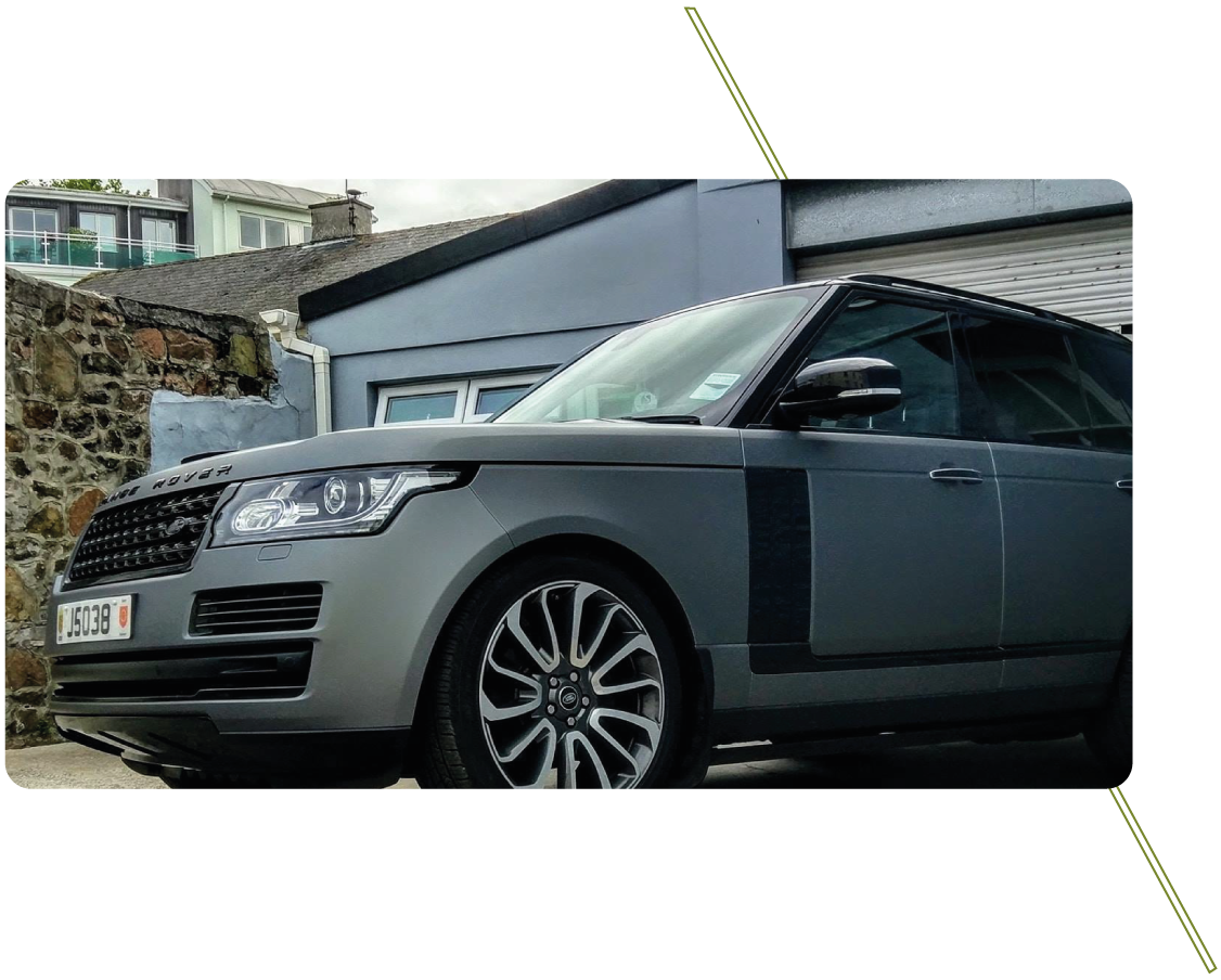 Sign Solutions Wrapping Services - Vehicles -Signtech Blueprint Jersey